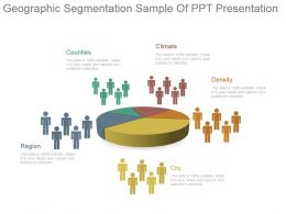 Geographic Segmentation Sample Of Ppt Presentation