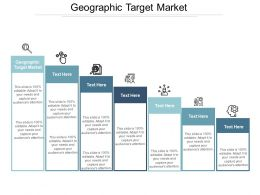 Geographic Target Market Ppt Powerpoint Presentation Icon Objects Cpb