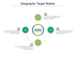 Geographic Target Market Ppt Powerpoint Presentation Infographics Cpb
