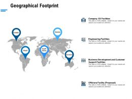 Geographical Footprint Ppt Powerpoint Presentation Infographic Graphic Images