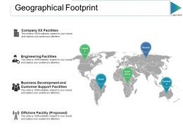 Geographical Footprint Ppt Slides Download Ppt Slide