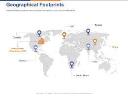 Geographical Footprints Ppt Powerpoint Presentation Layouts Background Designs