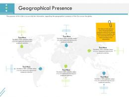 Geographical Presence Firm Guidebook Ppt Summary