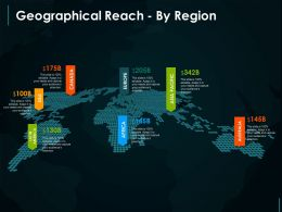 Geographical Reach By Region Example Of Ppt