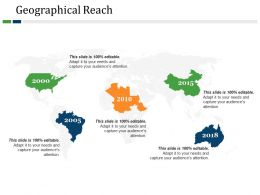 Geographical Reach Powerpoint Slide Clipart