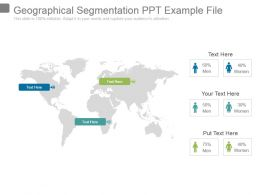 Geographical Segmentation Ppt Example File