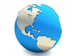Geography Earth Globe Icon Stock Photo