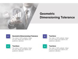 Geometric Dimensioning Tolerance Ppt Powerpoint Presentation Pictures Cpb