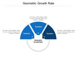 Geometric Growth Rate Ppt Powerpoint Presentation Styles Examples Cpb