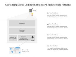 Geotagging Cloud Computing Standard Architecture Patterns Ppt Powerpoint Slide