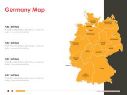 Germany Map Powerpoint Presentation PPT Template