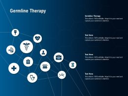 Germline Therapy Ppt Powerpoint Presentation Professional Information