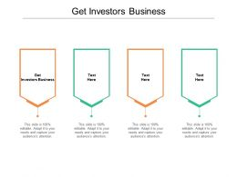 Get Investors Business Ppt Powerpoint Presentation Professional Skills Cpb