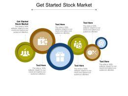 Get Started Stock Market Ppt Powerpoint Presentation Portfolio Templates Cpb