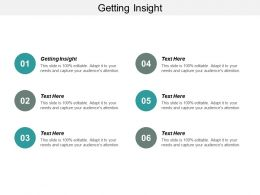 Getting Insight Ppt Powerpoint Presentation Model Slides Cpb