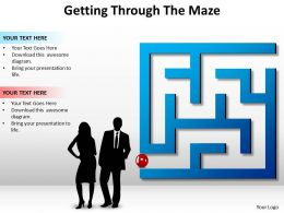 Getting Through The Maze