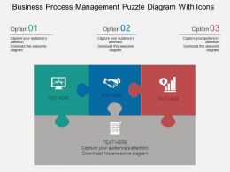 gh_business_process_management_puzzle_diagram_with_icons_flat_powerpoint_design_Slide01