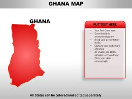 Ghana Country PowerPoint Maps