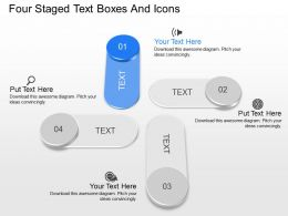 gi Four Staged Text Boxes And Icons Powerpoint Template