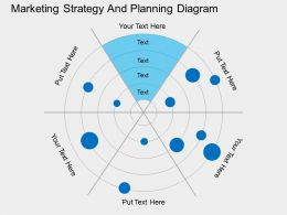 gi Marketing Strategy And Planning Diagram Flat Powerpoint Design