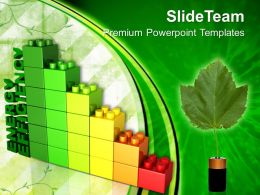 Giant Building Blocks Templates Lego Energy Efficiency Environment Ppt Slides Powerpoint