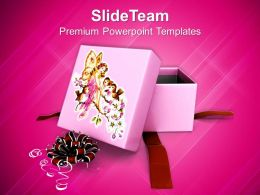 Gift Box For Christmas Presents PowerPoint Templates PPT Backgrounds For Slides 1113
