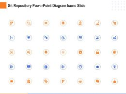Git Repository Powerpoint Diagram Icons Slide Ppt Powerpoint Presentation Tips