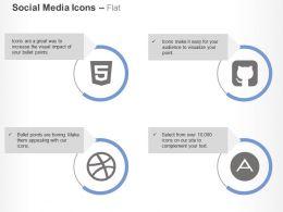 github_square_html5_dribble_adn_ppt_icons_graphics_Slide01