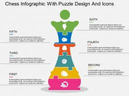 gk_chess_infographic_with_puzzle_design_and_icons_flat_powerpoint_design_Slide01