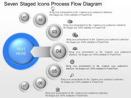 gk Seven Staged Icons Process Flow Diagram Powerpoint Template