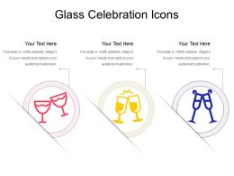 Glass Celebration Icons