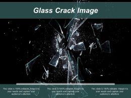 Glass Crack Image