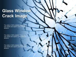 Glass Window Crack Image