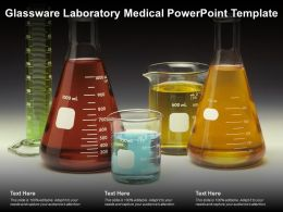Glassware Laboratory Medical Powerpoint Template