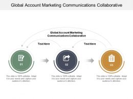 Global Account Marketing Communications Collaborative Ppt Powerpoint Presentation Cpb