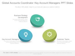 Global Accounts Coordinator Key Account Managers Ppt Slides