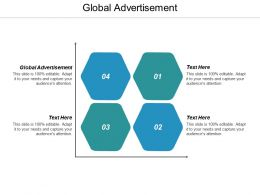 Global Advertisement Ppt Powerpoint Presentation Ideas Slide Download Cpb