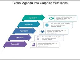 Global Agenda Info Graphics With Icons