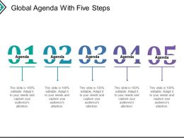 Global Agenda With Five Steps