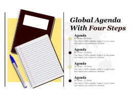 Global Agenda With Four Steps