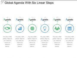 Global Agenda With Six Linear Steps