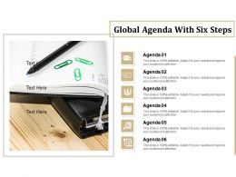 Global Agenda With Six Steps