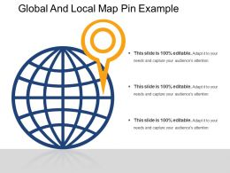 Global And Local Map Pin Example