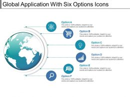 Global Application With Six Options Icons