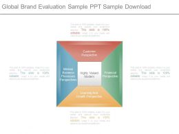 Global Brand Evaluation Sample Ppt Sample Download