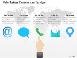 Global Business Communication Techniques Ppt Presentation Slides