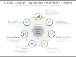 Global Business Components Presentation Pictures