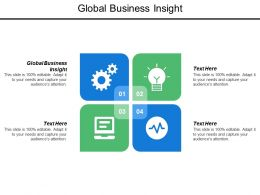 Global Business Insight Ppt Powerpoint Presentation Model Information Cpb