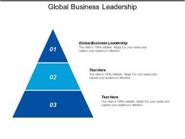 Global Business Leadership Ppt Powerpoint Presentation Gallery Deck Cpb