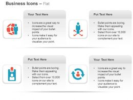 Global Business Management Multiway Process Id Card Process Cycle Ppt Icons Graphics